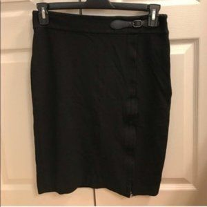 Ann Taylor black pencil skirt size 6